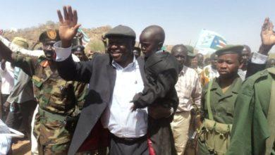 صورة وفد من «تحالف قوى جبال النوبة» يغادر إلى جوبا لدعم علمانية السودان