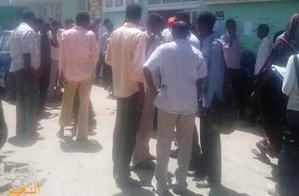 إصابة ستة من طلاب جامعة القضارف في اعمال عنف بالجامعة