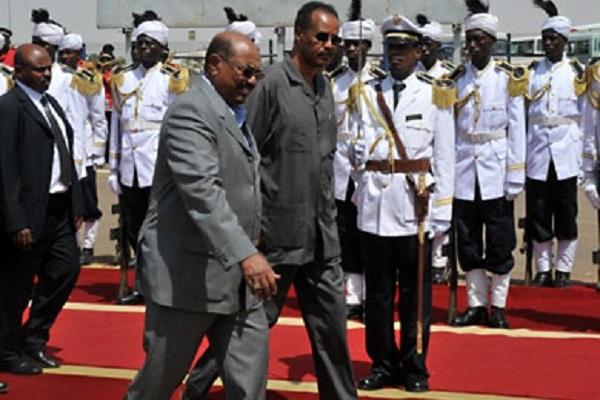 قمة طارئة بين البشير وافورقى بأسمرا والامن السودانى يحتجز معارضين أريتريين
