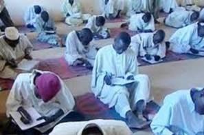 مدرسة تحت الشجرة في السودان
