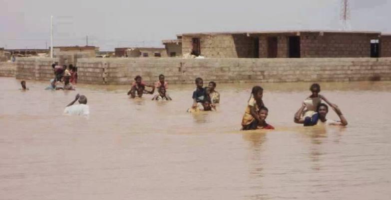 تقرير شامل عن الامطار والفيضانات في كل الولايات