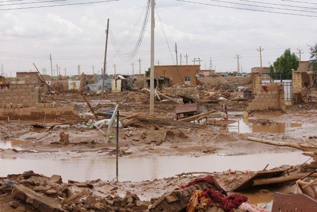 صور  الغرق والدمار فى منطقة الكرياب  بشرق النيل ..