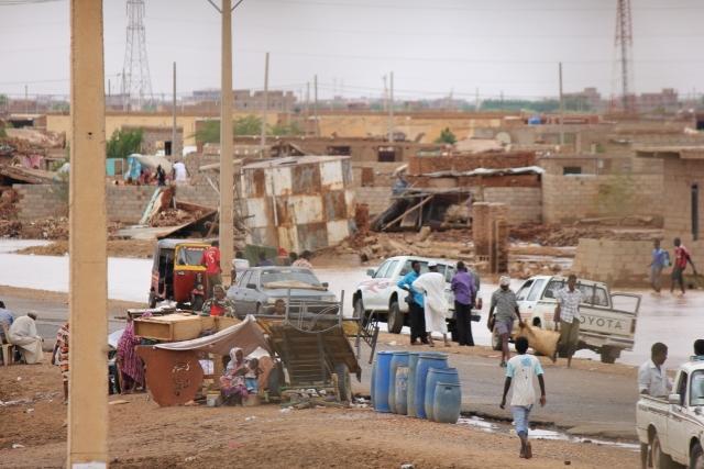 انهيار 1079 منزل بمحلية أم القرى بسبب الأمطار بالجزيرة