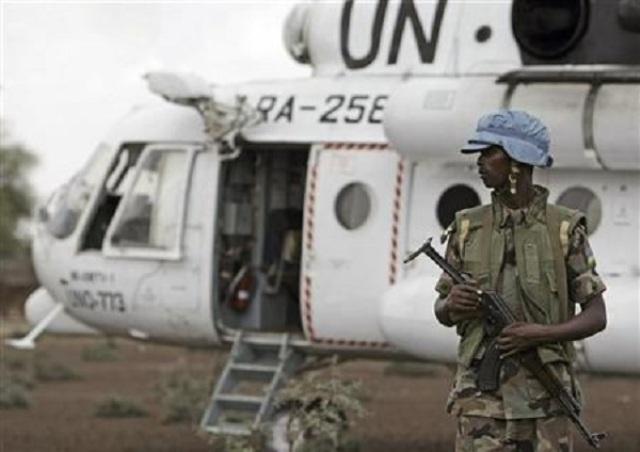 حركة تحرير السودان تحتجز مروحية روسية بدارفور
