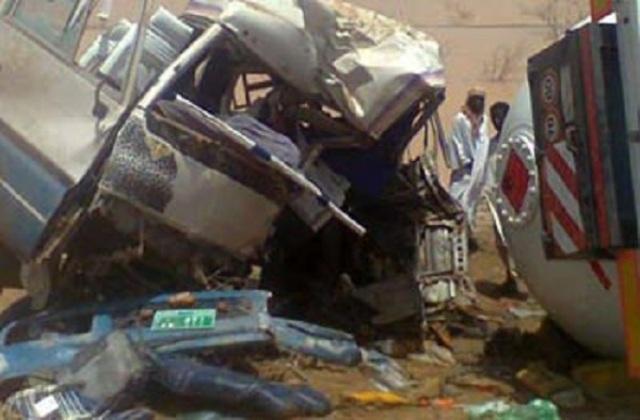 مقتل واصابة 35 شخصا فى حادث حركة بولاية نهر النيل