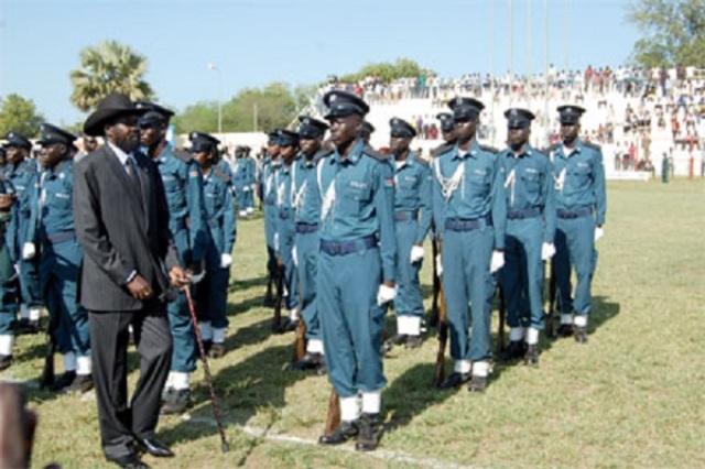 نصف قوات الشرطة في جنوب السودان اسماء وهمية