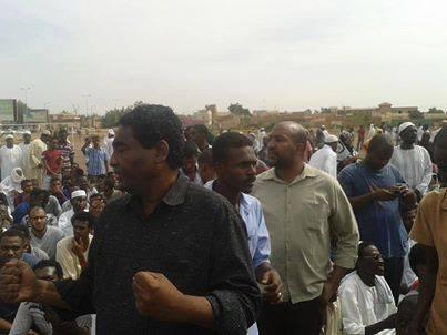 الامن يطلق سراح ابراهيم الشيخ وابوبكر يوسف بعد شهر من الاعتقال