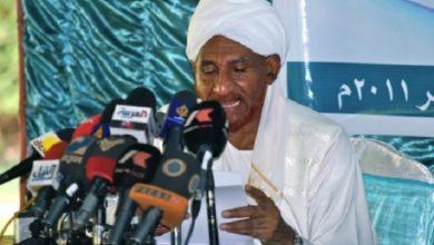 صورة السودان: المهدي ينسحب من مؤتمر ديني احتجاجاً على التطبيع مع إسرائيل