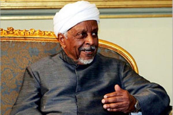 الميرغني يحيل أمر مشاركة الاتحادي في الحكومة للهيئة القيادية برئاسته