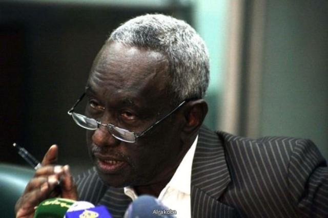 علي عثمان يتغيب عن اجتماع للمكتب القيادي للمؤتمر الوطني