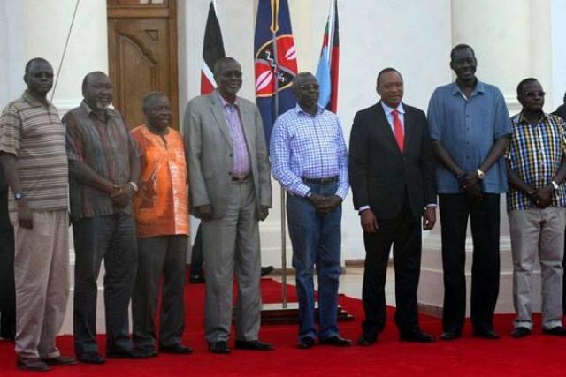 """""""طرف ثالث"""" يتسبب في تأجيل مفاوضات جنوب السودان"""
