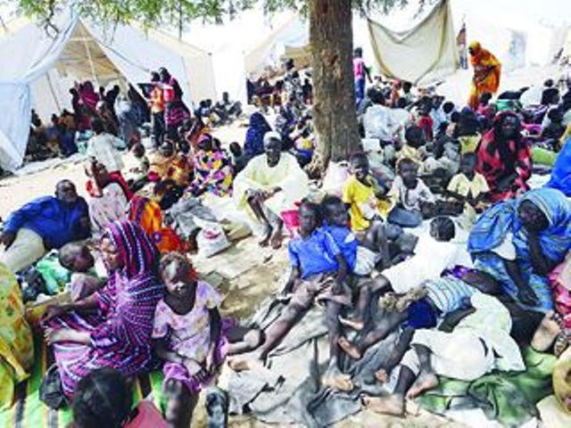 تقارير دولية:  الوضع الانساني في المنطقتين يقترب من حد الكارثة