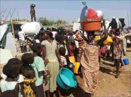 مليون نازح في جنوب السودان بسبب الصراع المستمر والآلاف الاطفال مصابون بسوء التغذية