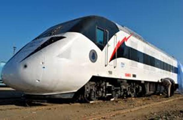 قطار حديث في السودان يثير الاعجاب