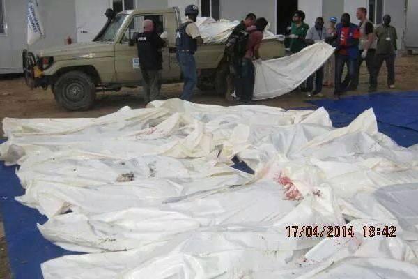 الامم المتحدة وحكومة الجنوب تتبادلان الاتهامات بشان التقصير في حماية المدنيين