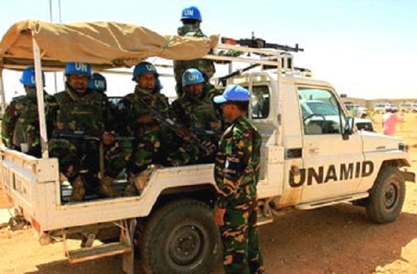 ( يوناميد) : مليشيات عربية قتلت وجرحت (4) من جنود البعثة الدولية في دارفور