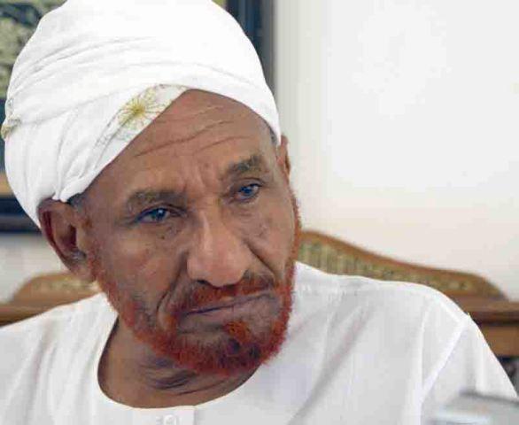 مظاهرات للانصار وحزب الأمة بأم درمان تطالب باطلاق سراح الصادق المهدي