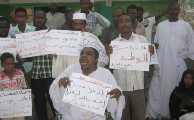 مبادرة القضارف للخلاص تطالب بالقصاص للشهيد علي ابكر موسى وبالافراج عن المعتقلين