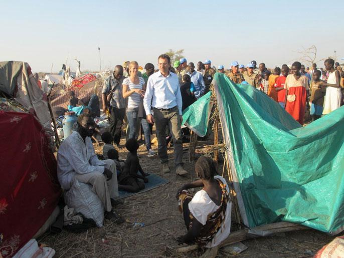 ارتفاع معدل الوفيات  بين نازحي جنوب السودان يقلق الأمم المتحدة