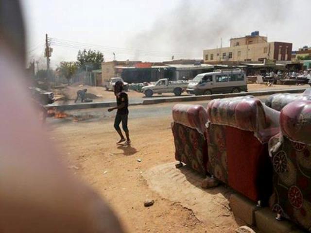 مظاهرات شعبية في جنوب الخرطوم عقب صلاة  الجمعة