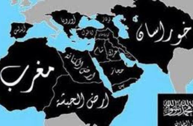 (داعش) ينشرخريطة الخلافة ويضم إليها السودان