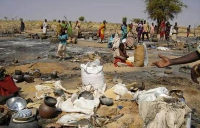 390 ألف نازح فى دارفور منذ  يناير