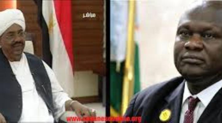 مشار يلتقي البشير في الخرطوم اليوم