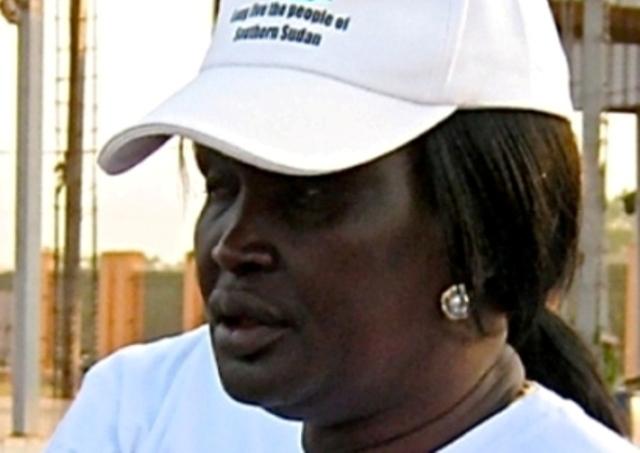 رئيس جنوب السودان يعفي ارملة قرنق من موقعها كمستشارة له