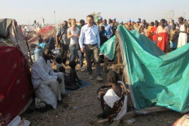 اليونسف: تلقينا منحة بمبلغ (2) مليون يورو لمحاربة سوء التغذية بين الاطفال في السودان