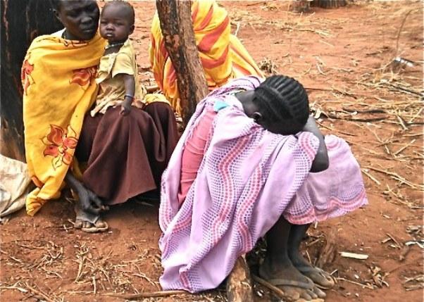 لاجئو جنوب كردفان فى أعالى النيل يشكون نقص الغذاء
