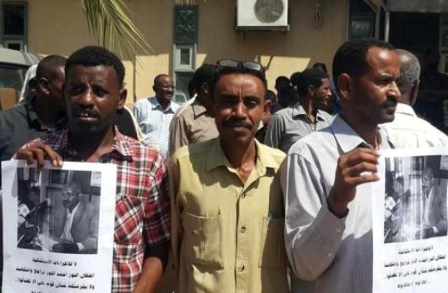 عشرات الصحافيين شاركوا في وقفة احتجاجية تضامناً مع النور ومسؤولة حكومية تعرب عن استيائها من الاعتقال