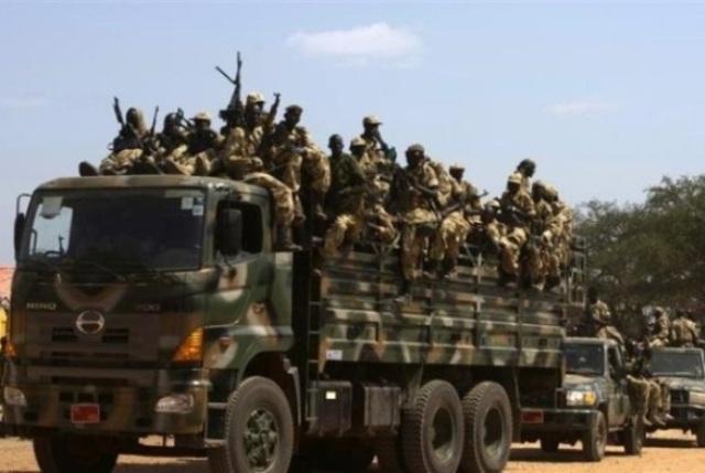 شاحنات المساعدات الانسانية تتجه من السودان إلي جنوبه بتمويل دولي