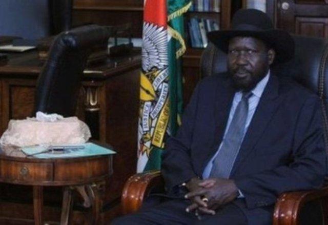 محلب مستقبلاً سلفا كير : مصر شريكة لجنوب السودان