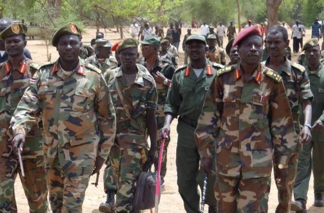 الجيش الشعبي يعلن عن إستيلائه على منطقة شمال تلودي