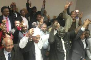 """قوى """"نداء السودان"""": الشعب شيع الانتخابات المضروبة لمثواها الاخير"""