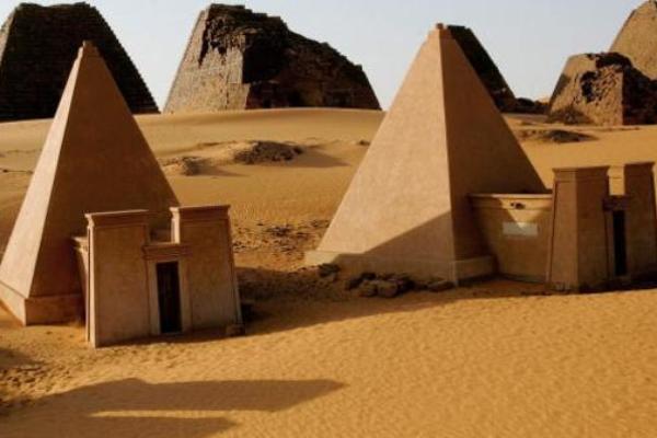 اكتشاف مدينة فرعونية قديمة  في السودان