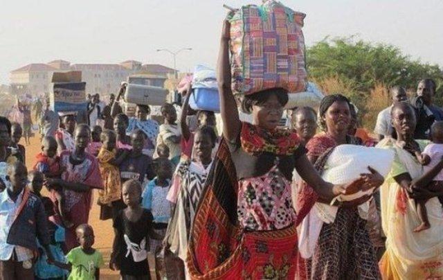الأمم المتحدة تعلن فرار (30) ألف من جنوب السودان إلى الشمال