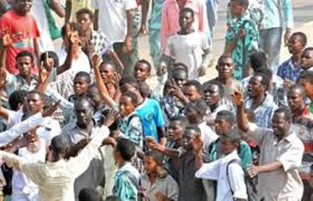 تظاهرات احتجاجية  بالخرطوم