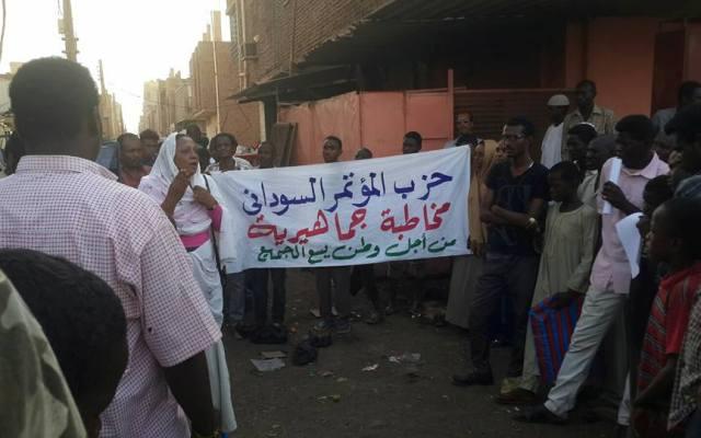 المؤتمر السوداني يؤكد استمراره فى المخاطبات الجماهيرية