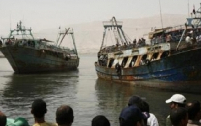 تقارير مصرية : السودان احتجز 10 صيادين مصريين جدد