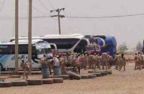 """""""الدعم السريع"""" تنفذ عمليات نهب واسعة في طريق""""التحدّي"""" شمال الخرطوم"""