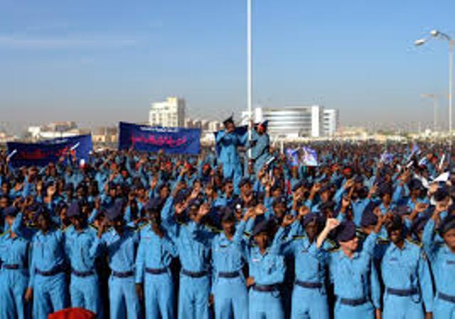 خبراء : الانفاق على الشرطة السودانية ضعف معدل الانفاق العالمي