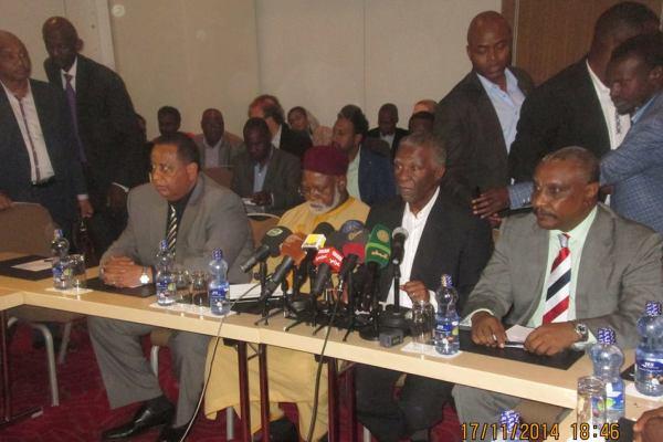 الوساطة الأفريقية تعلق  المؤتمر التحضيري بأديس