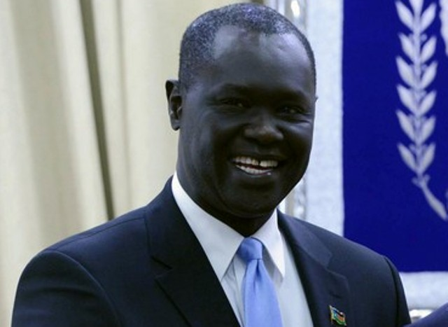 """بنجامين"""" أول سفير لجنوب السودان فى إسرائيل"""""""