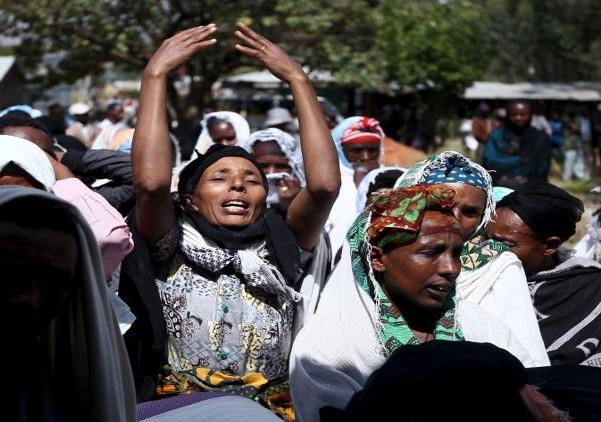 مقتل 75 شخصا فى موجة احتجاجات شعبية باثيوبيا