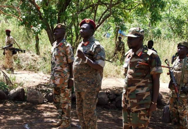"""""""الثورية"""" تعلن صد هجوم عسكري فى النيل الازرق"""