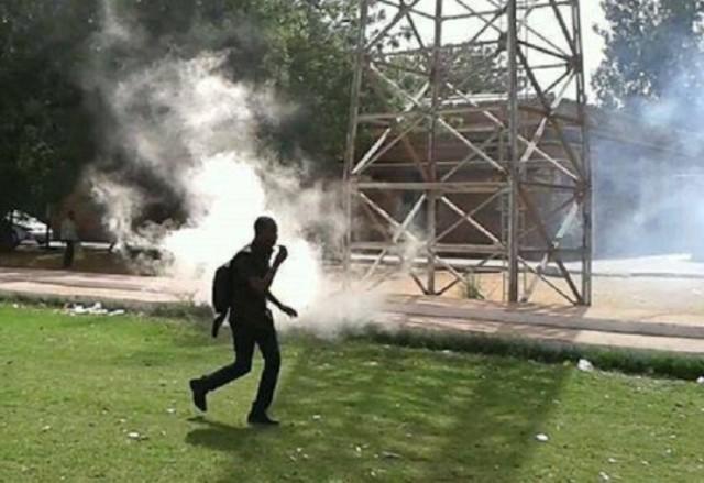 مظاهرات ببري اللاماب واعتقال (3) من الشباب