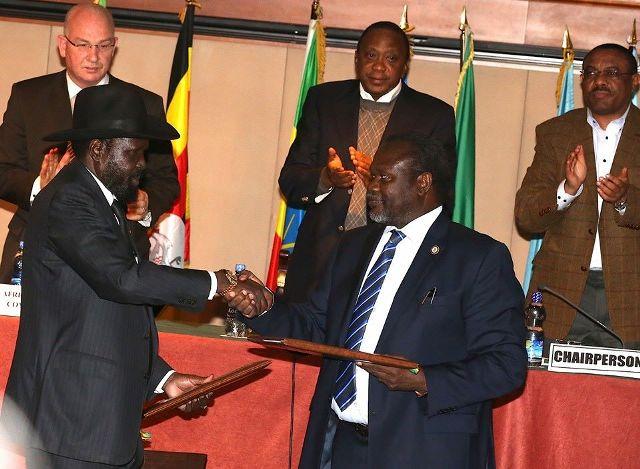 الأطراف المتصارعة بجنوب السودان تقتسم المناصب الوزارية