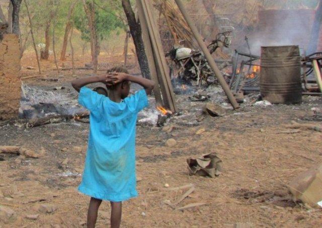 مقتل (5) مدنيين بقصف صاروخي على سلارا