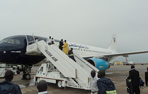 الطقس السئ يلغى رحلات جوية بين السودان ومصر